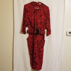 Vintage | 80s Midi Dress